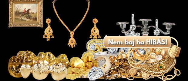 Remek árakon adhatja el arany és ezüst termékeit!