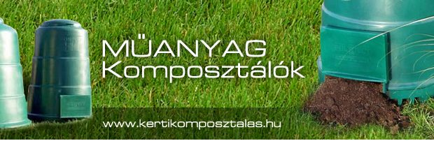 Kiváló növényi tápanyagot hozhat létre egy komposztáló segítségével.