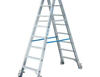 A gurítható állólétra maximális stabilitást ad!